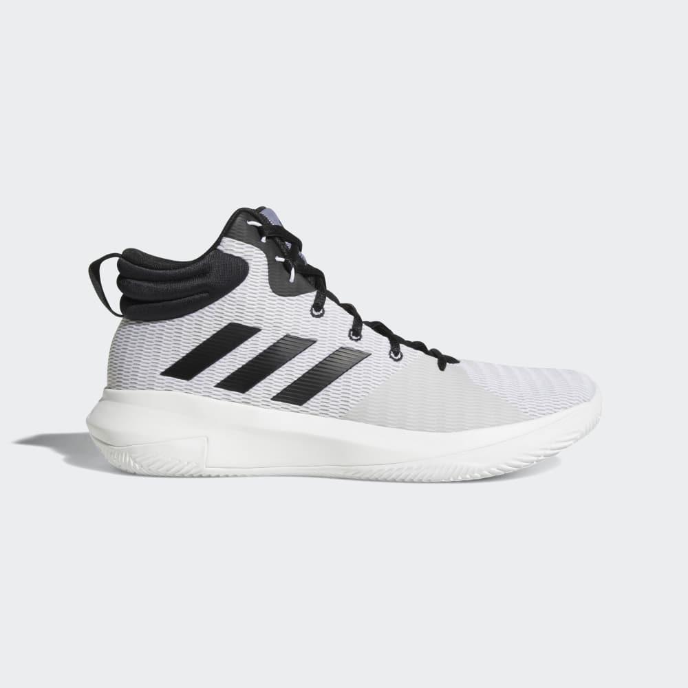 new concept 47e33 f7755 Adidas Pro Elevate Erkek Basketbol Ayakkabıları Siyah Beyaz Gri   66610-941  TR