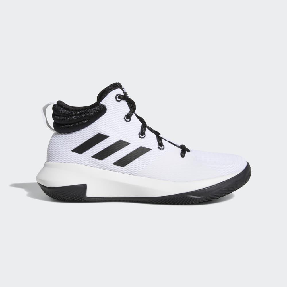 free shipping 8721b f1ced Adidas Pro Elevate Çoçuk Basketbol Ayakkabıları Siyah Beyaz   71942-722 TR